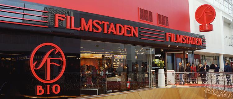 Filmstaden i Täby byggdes på ett helt nytt sätt. Förutom att det gav överlägsen ljudisolering innebar det betydligt lägre byggkostnader.
