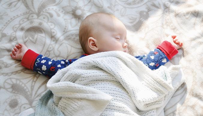 Alla, stora som små, är i behov av en god sömn. Foto: Wikimedia Commons