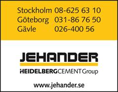 Sand & Grus AB Jehander