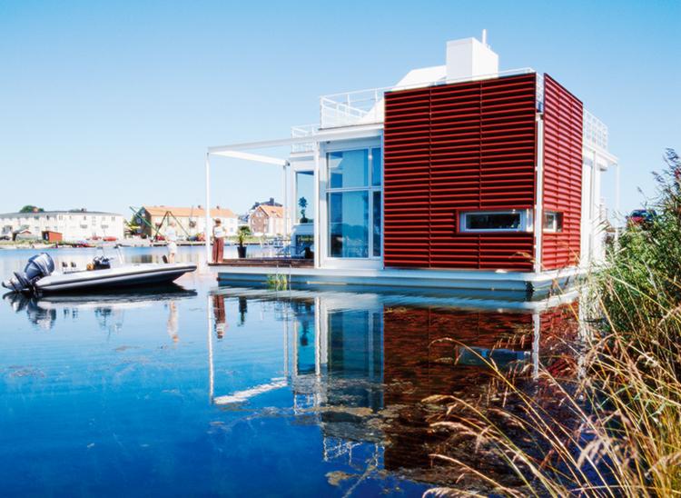 Exempel på byggnad enligt PBL, där BBR gäller vid uppförande av en ny byggnad och vid ändring av byggnad. Foto: Peter Carlsson