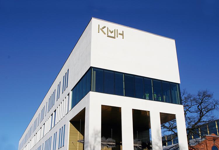Kungliga Musikhögskolan (KMH) i Stockholm. Foto: Stig Dahlin