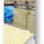 Fuktsäker produktion för kompakta tak med mineralull