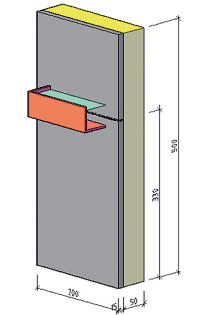 Slagregnstäthet på putsad fasad av stenullsskiva