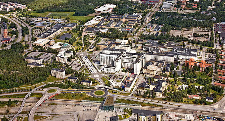 Umeå Smart City Foto: Bergslagsbild AB
