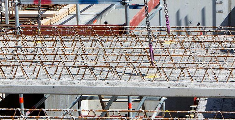 hållfasthetsklass prefabricerad betong