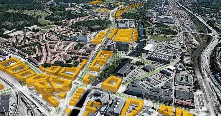 Nya Lödöse, Gamlestaden i Göteborg