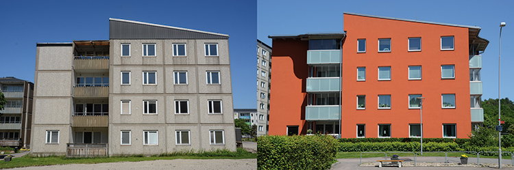 Kostnadseffektiv energi- och CO2-emissionsoptimering – vid renovering av bostäder