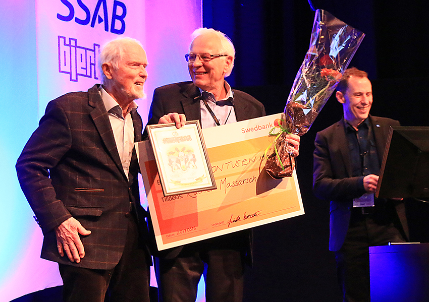 Sven Hansbos pris 2017
