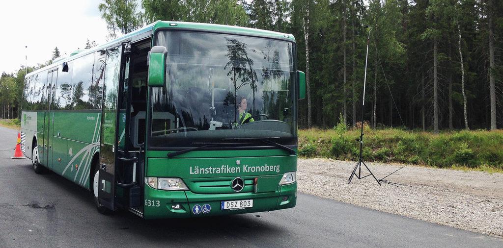 Lågfrekvent buller från bussar i stadstrafik – problem vid bostäder