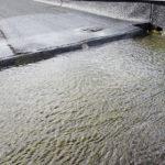 Vattenlaster på låglutande takkonstruktioner