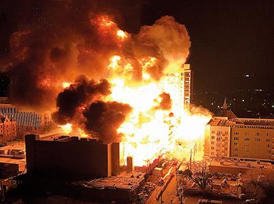 Kan moderna trähus brinna så bra att vi kan få en stadsbrand?