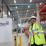 Ny fabrik för prefabricerade betongelement