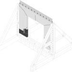 Förstärkning av betongväggar i samband med håltagning