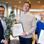 "Studenter vinner WSPs tävling ""100H"""