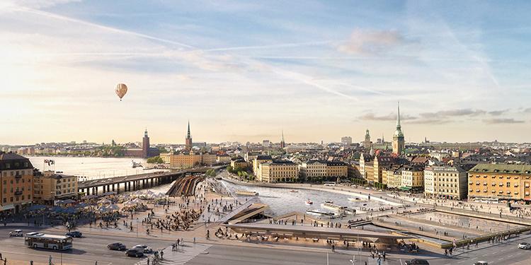 Nya Slussen – att bygga mycket och trångt i Stadsmiljö