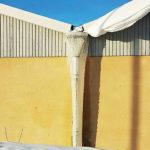 Invändig eller utvändig avvattning av tak?