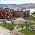 Dome of Visions på Lindholmen vid Chalmers Tekniska Högskola
