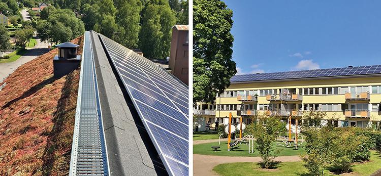 Takrenovering med solceller