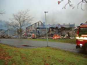 Kan extra brandskydds-installationer minska klimatpåverkan?