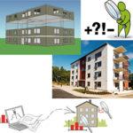 Varierande energiprestanda i likadana nya flerbostadshus under deras tre första driftsår