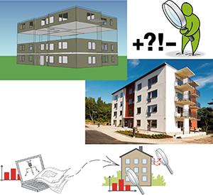 Varierande energiprestanda i likadana flerbostadshus