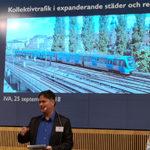 Kollektivtrafik i expanderande städer och regioner