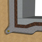 Dräneringssystem och yttre fuktskydd vid grundläggning under mark