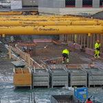 Stödkonstruktion hanterar några av de svåraste grundförhållandena i Göteborg
