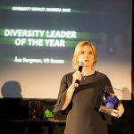 Åsa Bergman prisas  för mångfaldsarbete