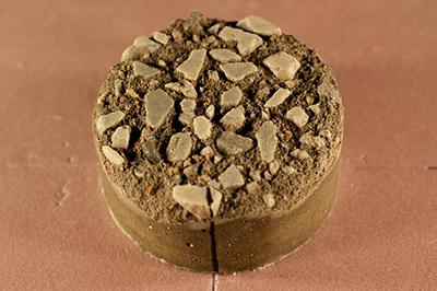 Saltfrostavskalning i betong