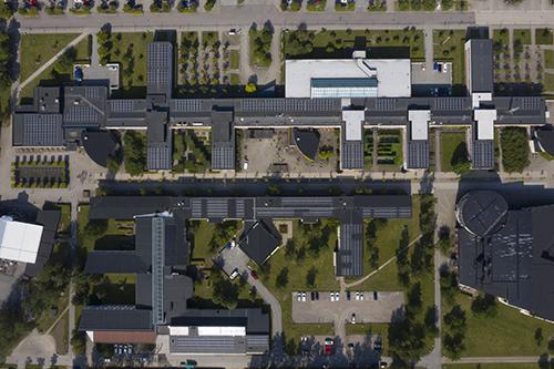 Solceller startklara vid Örebro universitet