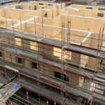 Fuktsäkerhet vid KL-träbyggande utan väderskydd