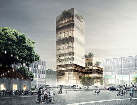 Design och konstruktionssystem för högre trähus