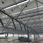 Solenergi från parkeringshustak