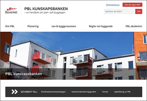 Byggbranschens nytta av PBL kunskapsbanken