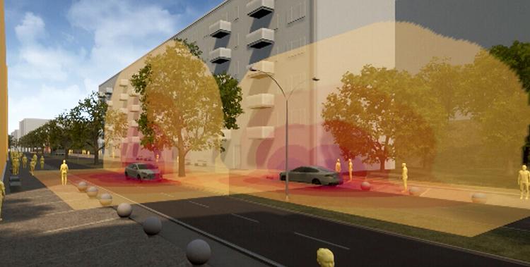 Visualisering och auralisering av buller i stadsmiljö