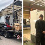 FoBe Pålar i Näsviken investerar i ny maskin