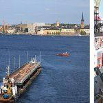 Getingmidjans nya bro över Norrström