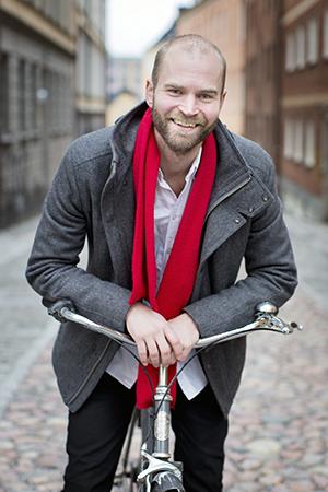 Lars Strömgren, ny VD för Samhällsbyggarna.
