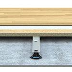 Lågbyggande stålregel för låga golv