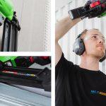 Spika gipsskivor – snabbt och ergonomiskt