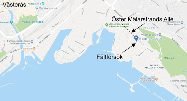 Markvibrationer vid vibrodrivning av spont – erfarenheter från ett fältförsök i Västerås