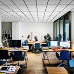 Mindre buller i öppna kontorslandskap